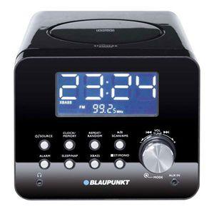 BLAUPUNKT CDR 10 BK CD Uhrenradio, CD-Player, Radiowecker, Küchenradio, Snooze, Aux-in, Wecker, Radio