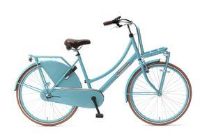 Popal Kinderfahrräder Mädchen Daily Dutch Basic+ 26 Zoll 46 cm Mädchen 3G Rücktrittbremse Türkis