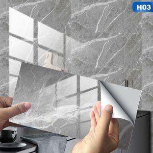 16 Stück DIY Bad Spiegel Fliesen Wand Aufkleber 30x15cm Silber Selbst Klebstoff Reflektierend Home Dekor