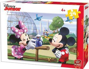 Disney stichsäge Mickey & Minnie Mouse junior 26 cm 24 Teile