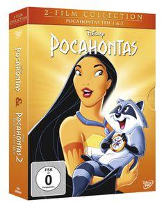 Pocahontas 1+2, Doppelpack DVD