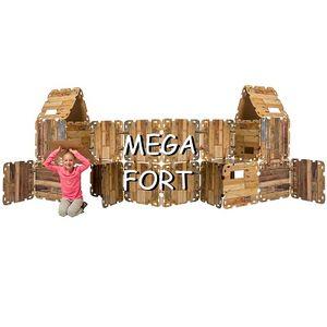 Fantasy Forts Mega, indoor Hüttenbauspiel 32 Platten