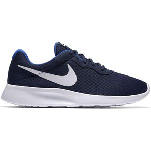 NIKE Tanjun Herren Low Sneaker Blau Schuhe, Größe:41
