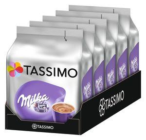 TASSIMO Milka 5er Pack Kakaospezialität T Discs Kapseln 5 x 8 Getränke