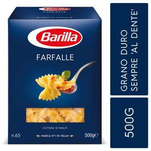 Barilla Pasta Nudeln Farfalle no 65 aus Hartweizengrieß 500g 3er Pack