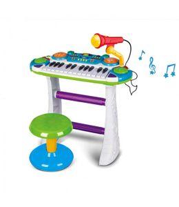 Keyboard mit Ständer | Klavier Kinderpiano | Multifunktions Standkeyboard