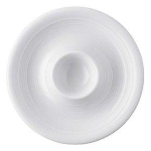 Thomas 11400-800001-15525 Trend Eierbecher mit Ablage, Porzellan, weiß