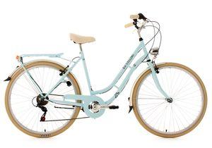 Damenfahrrad 28'' Casino hellblau 6 Gänge RH 53 cm KS Cycling