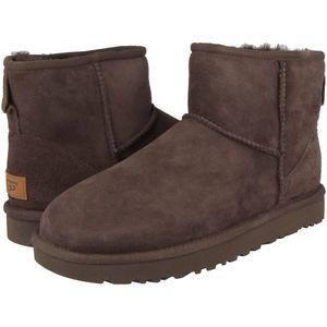 UGG Australia Classic Mini II Damen Winterstiefel Schokobraun Schuhe, Größe:37