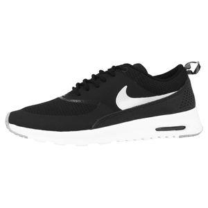 NIKE WMNS Air Max Thea Turnschuhe Sneaker Schwarz Schuhe, Größe:35 1/2
