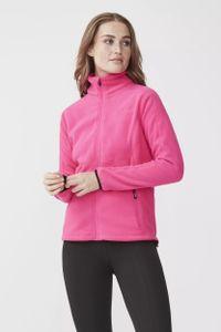Tenson fleece-Weste Miracle Damen Polyester rosa