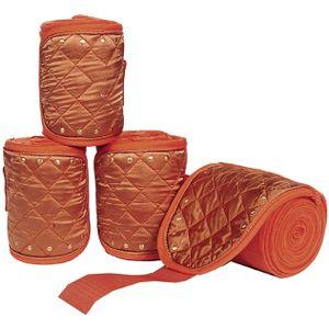 Cavallino Marino Polarfleecebandagen -Siena- 4er Set, Farbe:1317 rost, Größe:300 cm