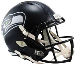NFL Football Mini Helm Seattle Seahawks Speed Footballhelm Riddell Helmet