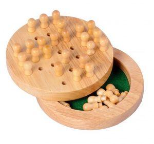 Longfield Games reisen Einzelausgabe Gummi/Holz