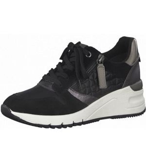 TAMARIS Damen Sneaker Schwarz, Schuhgröße:EUR 39