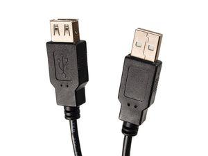 USB 2.0 Verlängerungkabel Verlängerungs Daten Kabel A-Buchse zu A-Stecker 5m