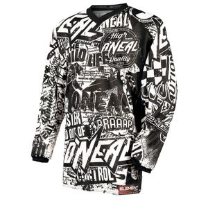 O'NEAL Herren Jersey Element Racewear Wild, Schwarz, X-Large