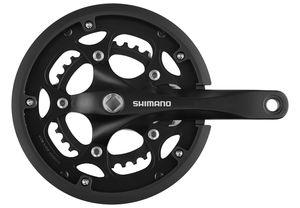 Shimano FC-RS200 Kurbelgarnitur 50x34 8-fach schwarz Kurbelarmlänge 175 mm