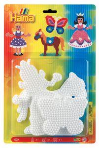 """Hama Stiftplatten """"Schmetterling Pferd Prinzessin Blister 3 Platten"""