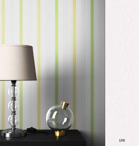 Streifentapete  Weiß   Modern Landhaus  Streifen Linien  Yorker Muster