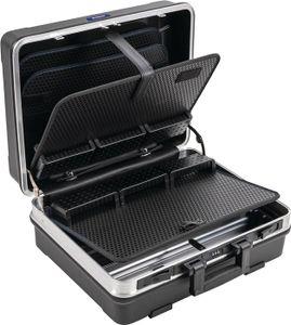 PROMAT Schalenkoffer BxTxHmm m.Werkzeugmodul 29l ABS Ku.Alu-Rahmen PROMAT
