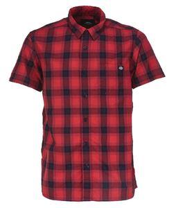 Dickies Bryson retro Karo Hemd, Größe:XL, Farbe:Rot