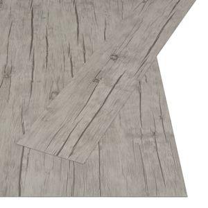vidaXL PVC Laminat Dielen Selbstklebend 4,46 m² 3 mm Eiche gewaschen