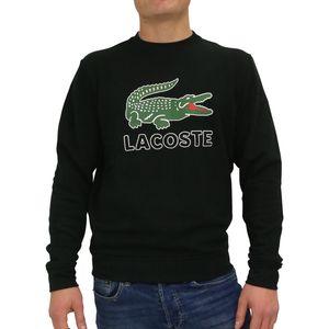 Lacoste Sweatshirt mit Rundhalsausschnitt Herren Schwarz (SH6382 031) Größe: 3 (S)