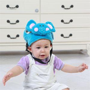 Walking Baby Schutzhelm Kleinkind Anti-Kollisions-Sicherheit Weiche Tiere Hut