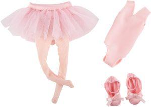 Käthe Kruse cruselings Vera Ballett Outfit 3-teilig