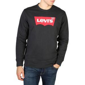 Levi's Herren Grafisches Sweatshirt, Schwarz XL
