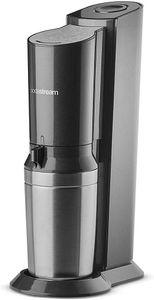 SodaStream Crystal 2.0 *schwarz* inkl. 2 Glaskaraffen + 1 Kohlensäure-Zylinder