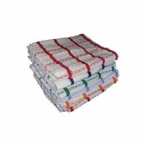 Highliving 12 Stück Baumwolle Jumbo Geschirrtuch Set