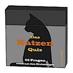Ars Vivendi Das Katzen Quiz, Junge/Mädchen, 66 Stück(e)
