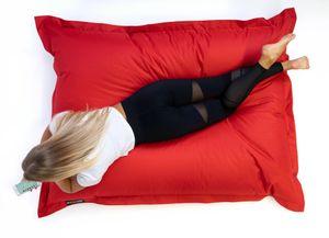 SNOOZER® Riesensitzsack Indoor Outdoor XXL Sitzsack 400l Füllung Red