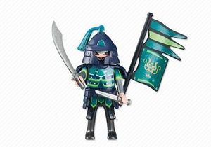 PLAYMOBIL 6327 Anführer der Grünen Asia-Ritter (Folienverpackung)