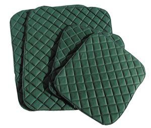 Bandagenunterlagen Bandagierunterlagen gesteppt, Farbe:weinrot