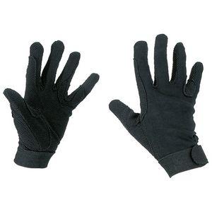 Magic-Grippy-Handschuhe Reithandschuhe Erwachsen schwarz
