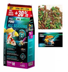 JBL ProPond All Seasons M 7,5 kg  (5,8 kg + 30% gratis)