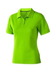 Damen Calgary Poloshirt Piqué - Farbe: Apple Green - Größe: M