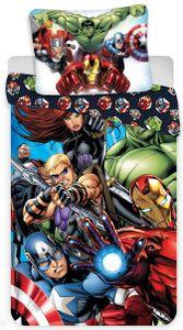 Marvel´s The Avengers - Wende-Bettwäsche-Set, 135x200 & 80x80 cm