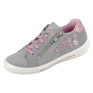 Superfit TENSY Mädchen Sneaker in Grau, Größe 33