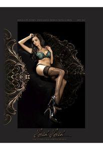 Ballerina Art. 286 halterlose Strümpfe schwarz 20den S/M