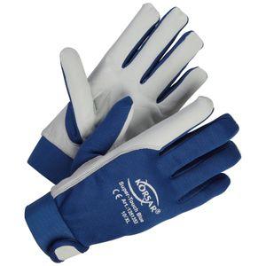 Montagehandschuhe KORSAR® Super-Touch , Gr. 8 - 11 , blau Größe - 10