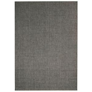 vidaXL Webteppich Sisal-Optik Indoor/Outdoor 160 x 230 cm Dunkelgrau