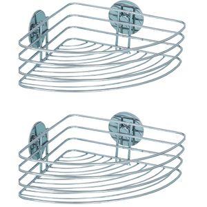 Turbo-Loc® Eckablage, Befestigen ohne bohren, 2er Set