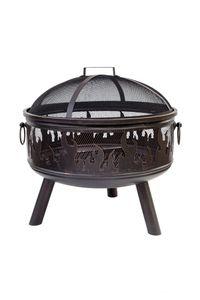 BUSCHBECK Feuerkorb Wildfire Maße L61 x B61 x H61 cm bronze