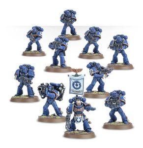 Warhammer 40k Space Marine Tactical Squad tabletop-Spiel Fantasy Battles