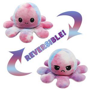 Niedliche Octopus Plüschtiere,Octopus Puppe,Octopus Kuscheltierpuppe,Kreative Spielzeuggeschenke für Kinder(Bunt + bunt)