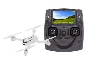 Hubsan X4 FPV Desire Quadrocopter - RTF-Drohne mit HD-Kamera, GPS, Follow-Me, Akku, Ladegerät und Fernsteuerung mit integriertem Farbmonitor